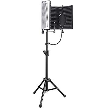 Best Mixers, Boom Stands, Sound Proofing for Podcasting Neewer NW5 Portable Sound Panel sample